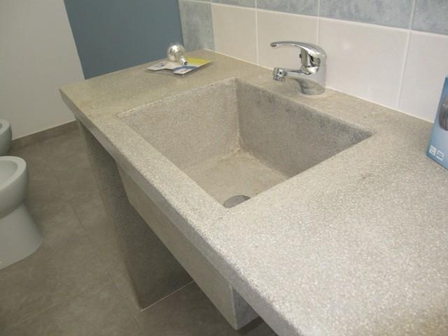 Manufatti in cemento a Ragusa - cucine rustiche e lavelli ...